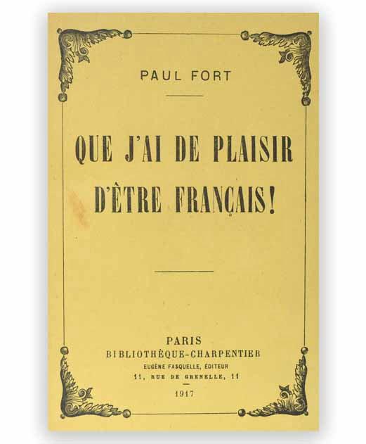 plaisir etre français