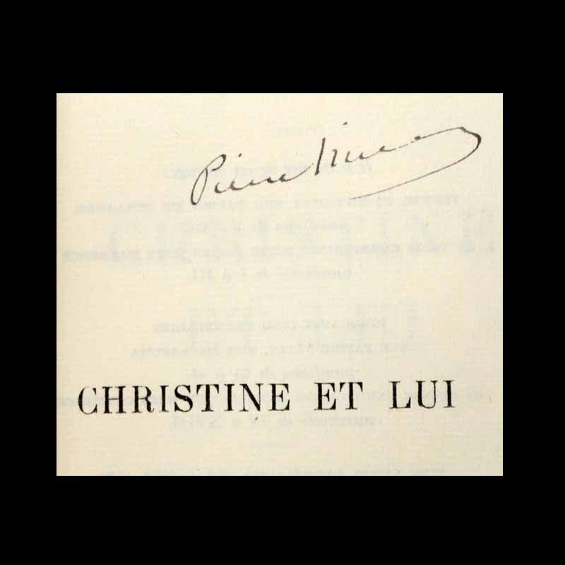 Christine et lui