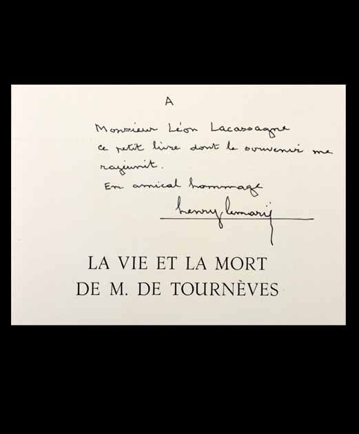 Vie et mort Tourneves