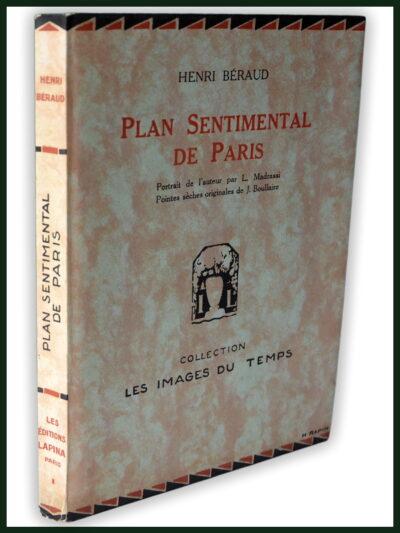 Plan sentimental de Paris