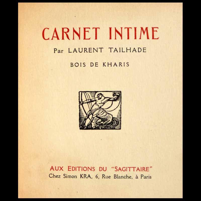 Carnet intime