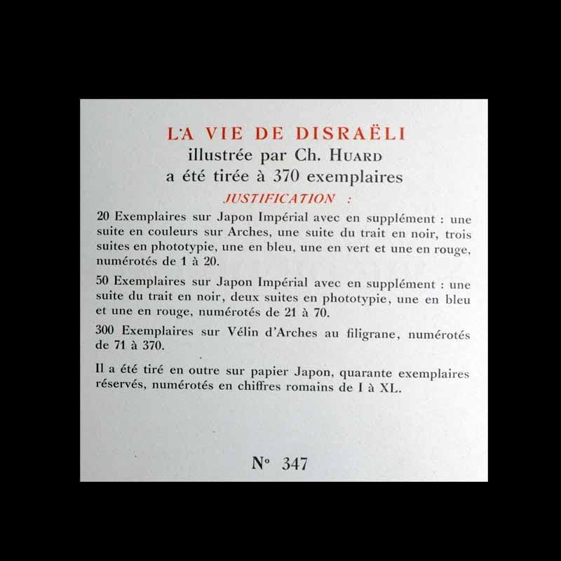 La vie de Disraeli
