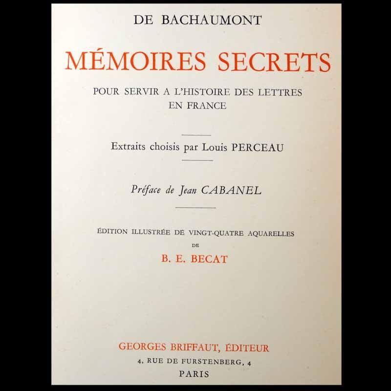 Mémoires secrets