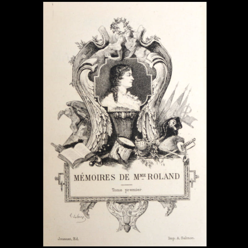 Mémoires madame Roland