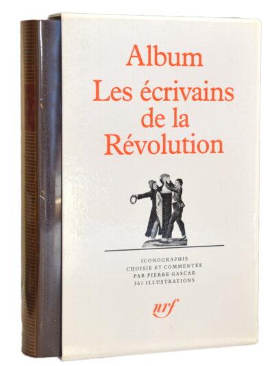 Album Les écrivains de la révolution